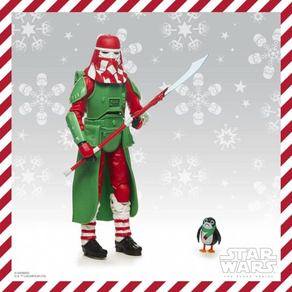 star wars black series holiday edition Snowtrooper