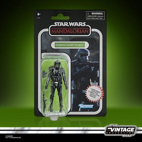 star wars vintage collection imperial death trooper carbonized