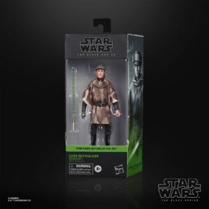 star wars black series luke skywalker endor