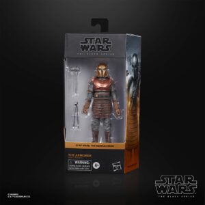 star wars black series The armorer mandalorian
