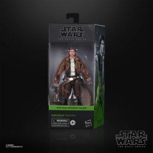 star wars black series han solo endor