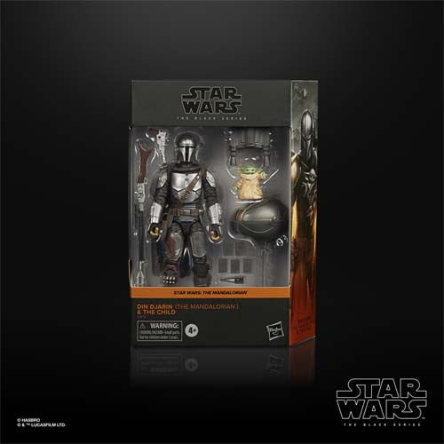 star wars black series mandalorian and the child
