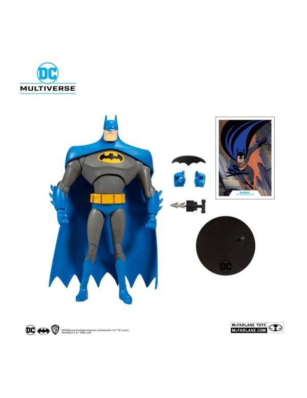 batman animated blue grey variant dc multiverse