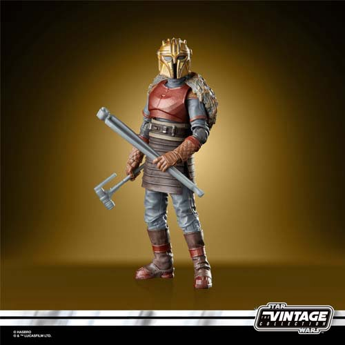 star wars vintage collection the armorer mandalorian
