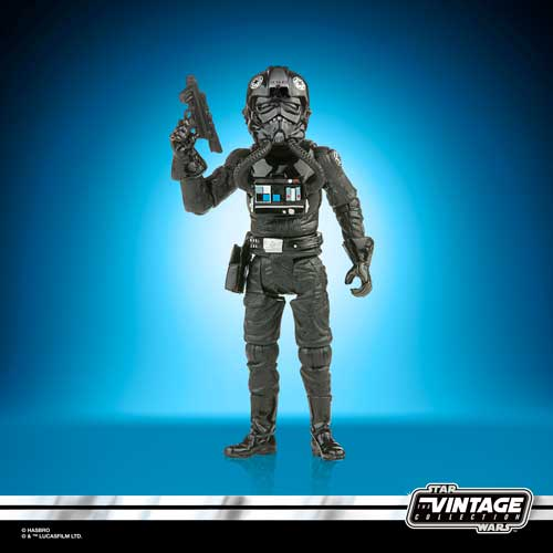 star wars vintage collection tie fighter pilot