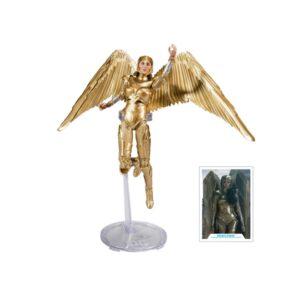 dc mcfarlane wonder woman golden armor