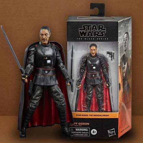 star wars black series Moff Gideon Mandalorian