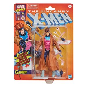 marvel legends gambit retro collection