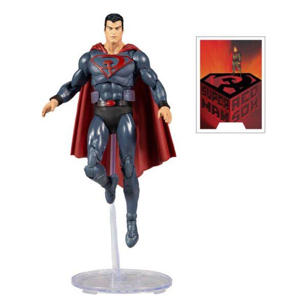Figura dc multiverse mcfarlane Superman red son
