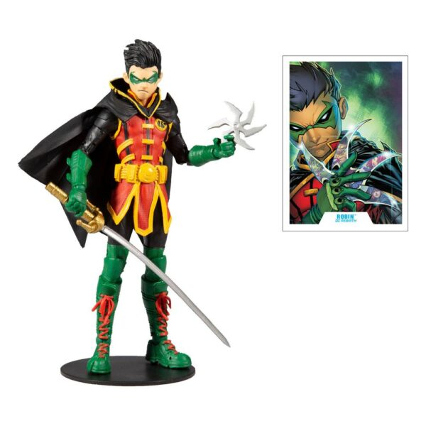 figura dc mcfarlane multiverse Damian Wayne As Robin